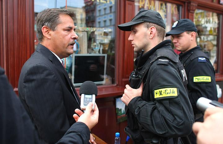 Zobacz jak wyglądał protest na Starym Rynku FOTO