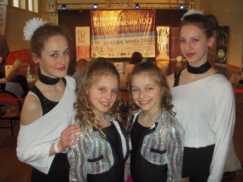 Tancerki z Chojnic znów będą reprezentować Polskę
