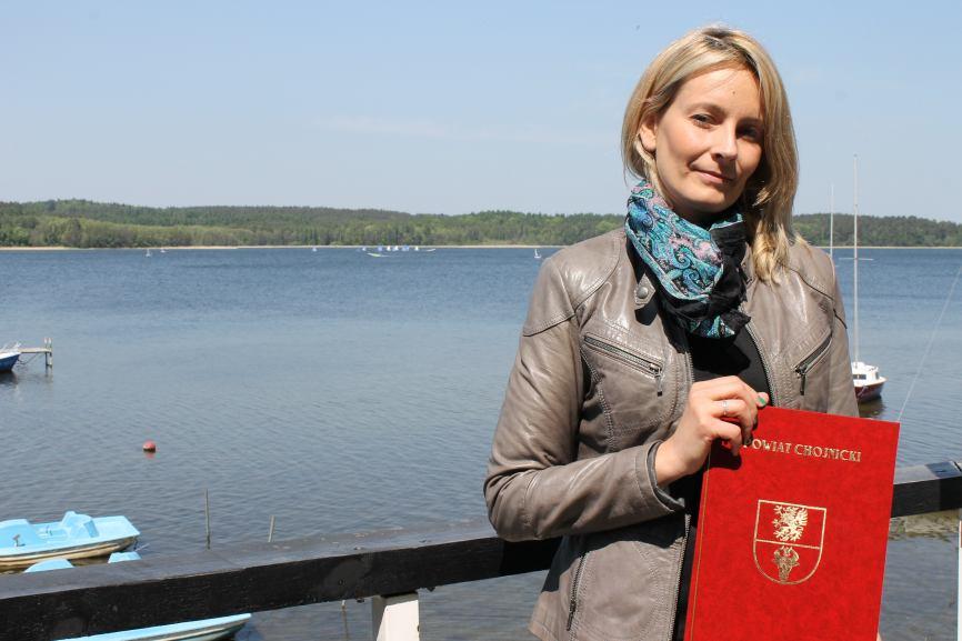 Władczyni jeziora Charzykowskiego