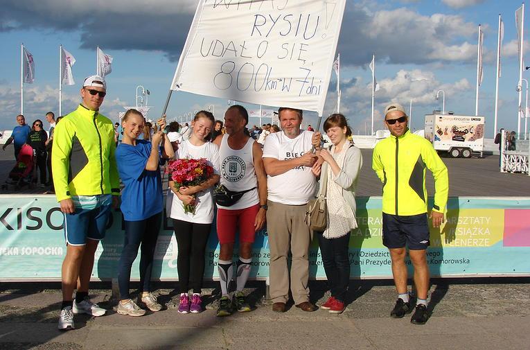 Maratończyk w Wituni przebiegł Polskę w 7 dni! FOTO