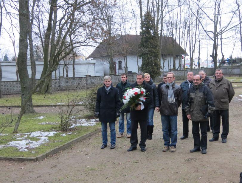 Upamiętnienie 69. rocznicy wyzwolenia Chojnic spod hitlerowskiej okupacji