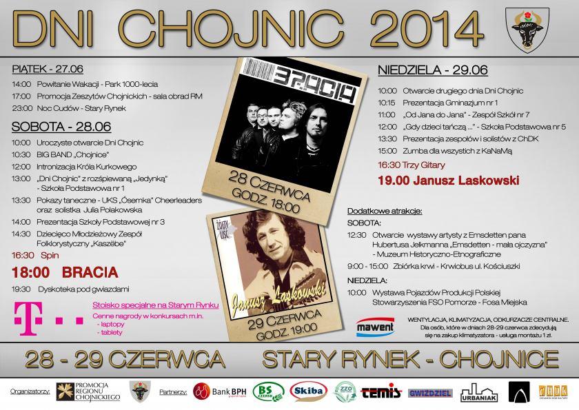 Program Dni Chojnic 2014