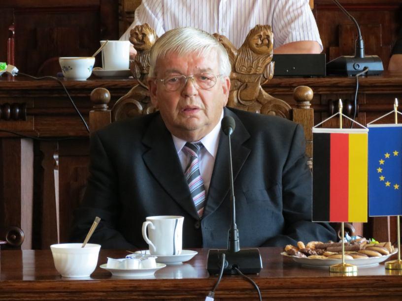 Reinhold Wietkamp Honorowym Obywatelem Miasta Chojnice