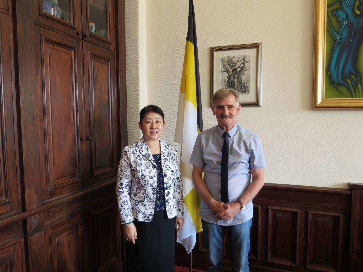 Spotkanie z Konsulem Generalnym Chińskiej Republiki Ludowej
