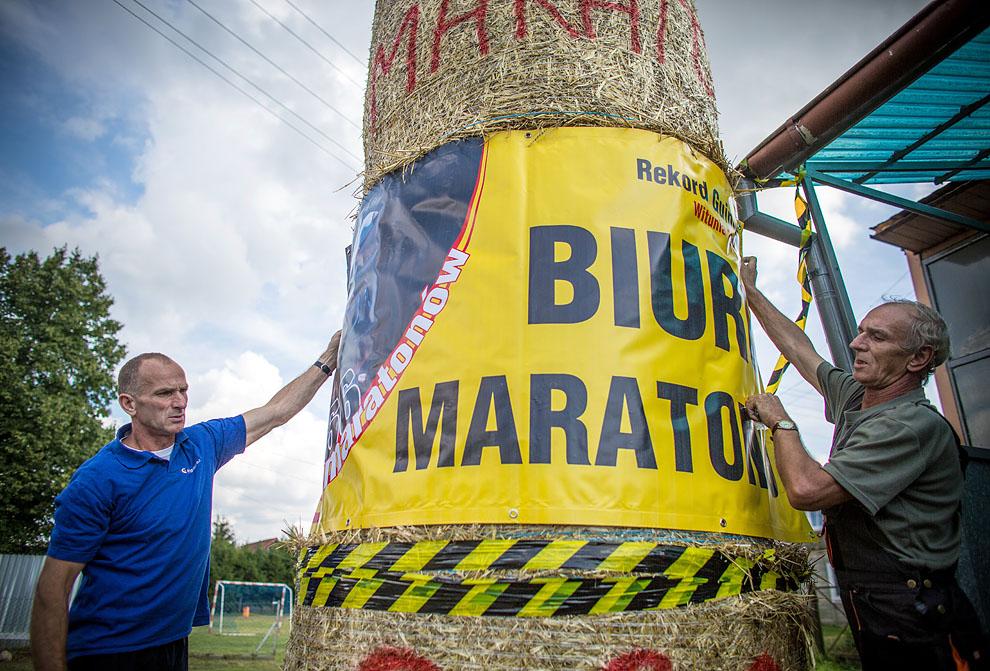 Wystartował! 366 maratonów w 366 dni