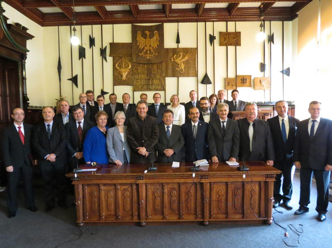 Uroczystość zakończenia kadencji Rady Miejskiej w Chojnicach