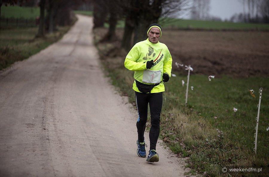 150. maraton już za Ryszardem Kałaczyńskim