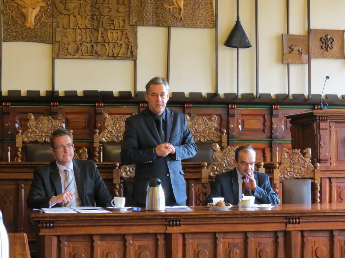 Spotkanie z Pełnomocnikiem Burmistrza Miasta Chojnice ds. Rozwoju i Współpracy Naukowej