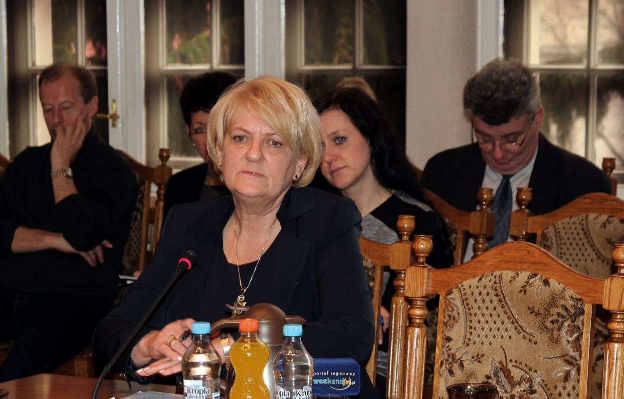Prezes Przedsiębiorstwa Komunalnego w Tucholi Małgorzata Oller odchodzi na emeryturę