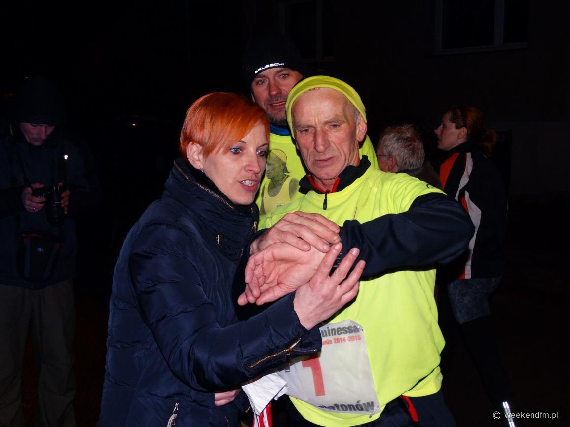 Dwusetny maraton Ryszarda Kałaczyńskiego FOTO