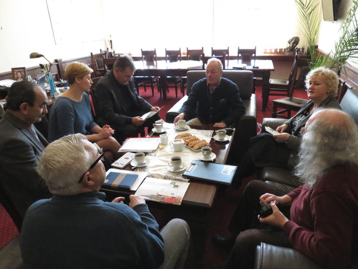Wizyta gości z partnerskiego miasta Emsdetten