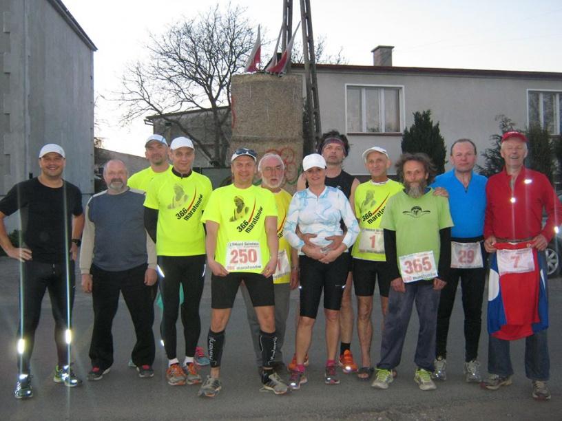 250. maraton Ryszarda Kałaczyńskiego