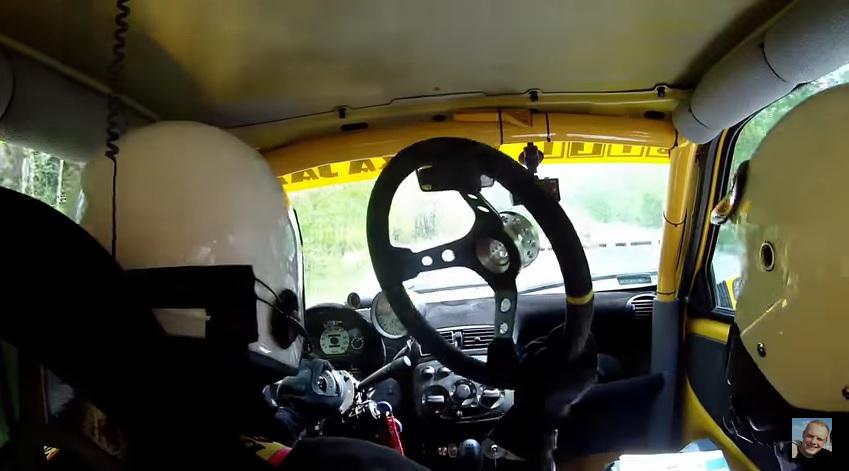 Rajdowa jazda bez... kierownicy