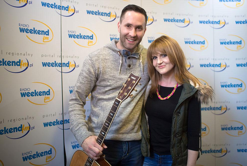 Weronika Korthals i Szymon Damięcki - LIVE w Weekend FM