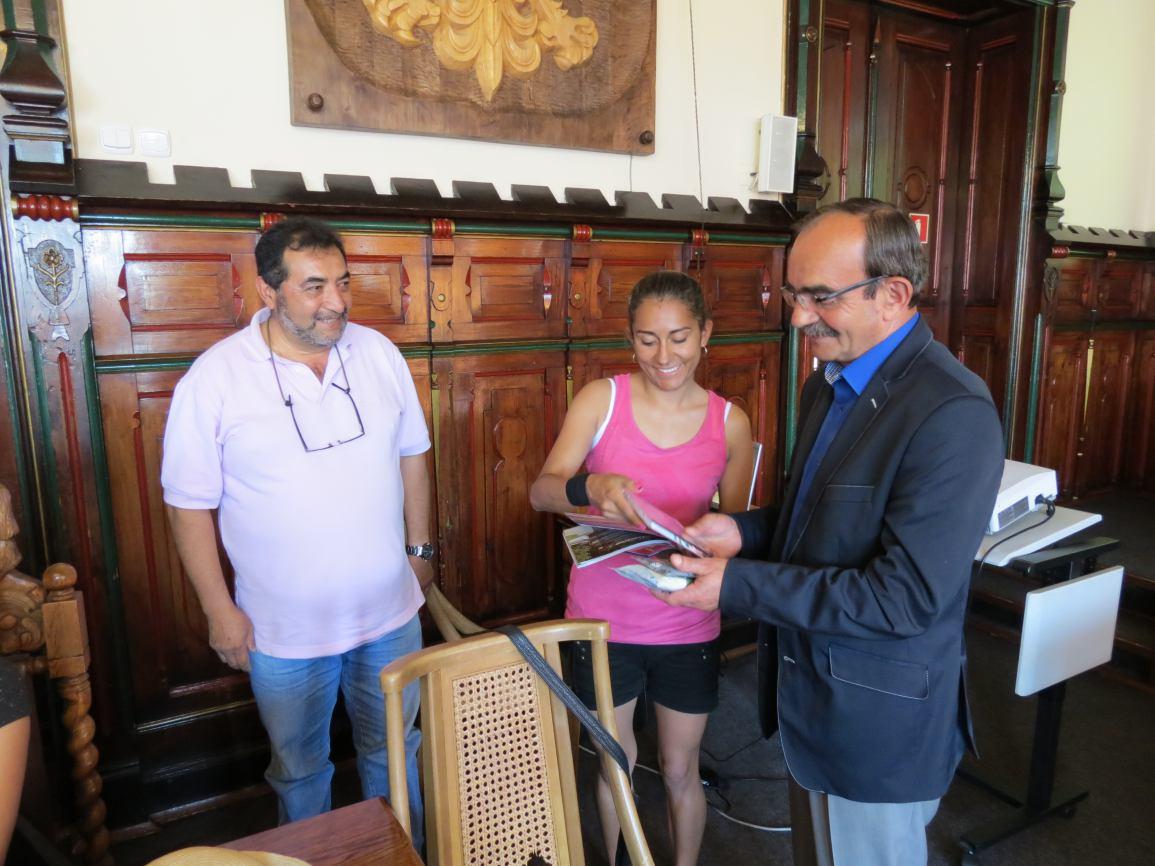 Spotkanie wiceburmistrza z kolumbijskim zespołem Raices de Colombia