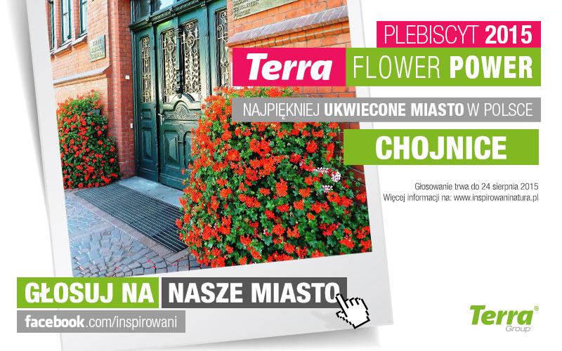 Głosuj na Chojnice w plebiscycie Terra Flower Power!