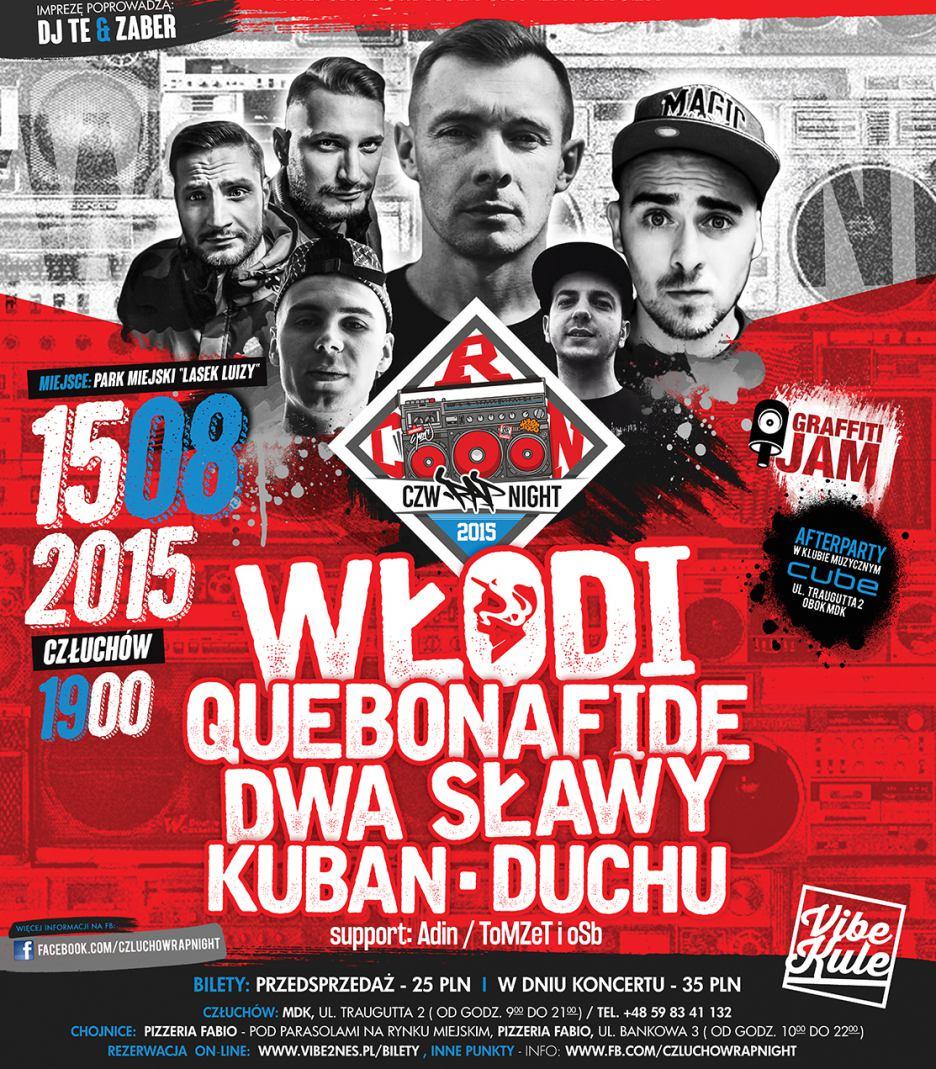 CZW Rap Night 2015 - zobacz kto wystąpi w tym roku?