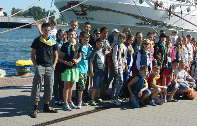 Dzieci z Ukrainy na wakacjach w Chojnicach