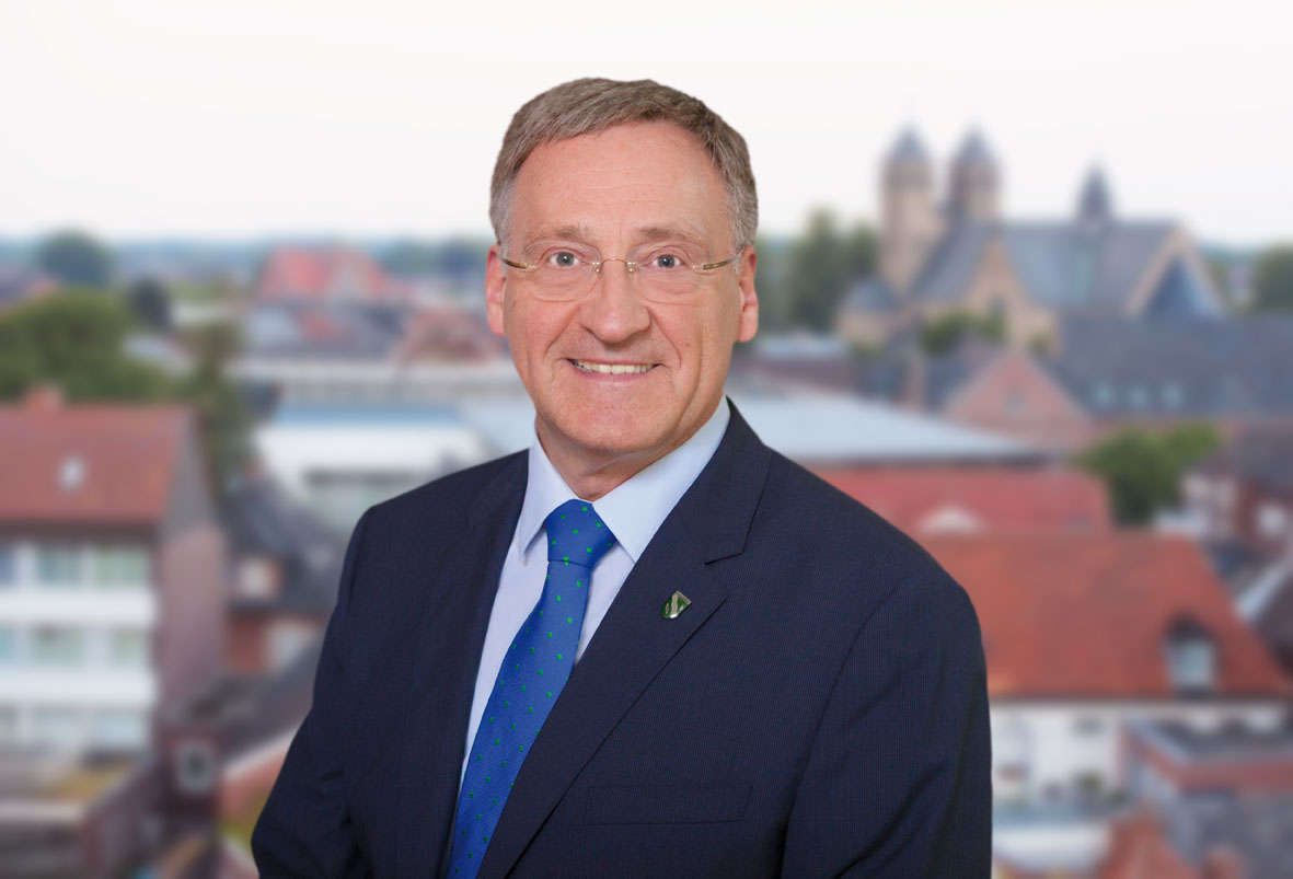Georg Moenikes ponownie wybrany na Burmistrza Miasta Emsdetten