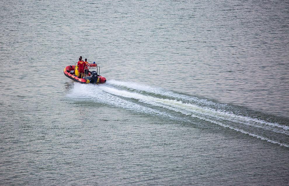 W jeziorze w Więcborku utonął 56-letni mężczyzna