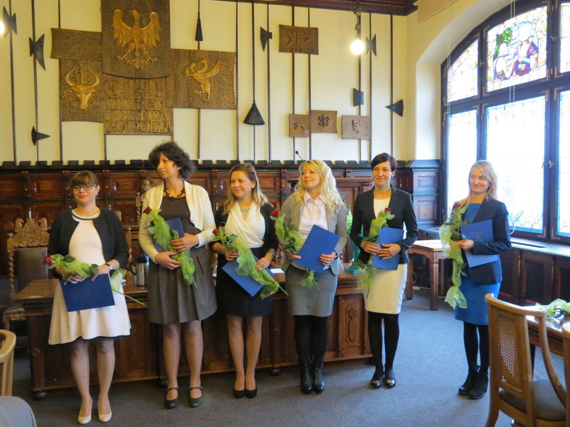 Wręczenie nagród oraz awansów zawodowych dla nauczycieli