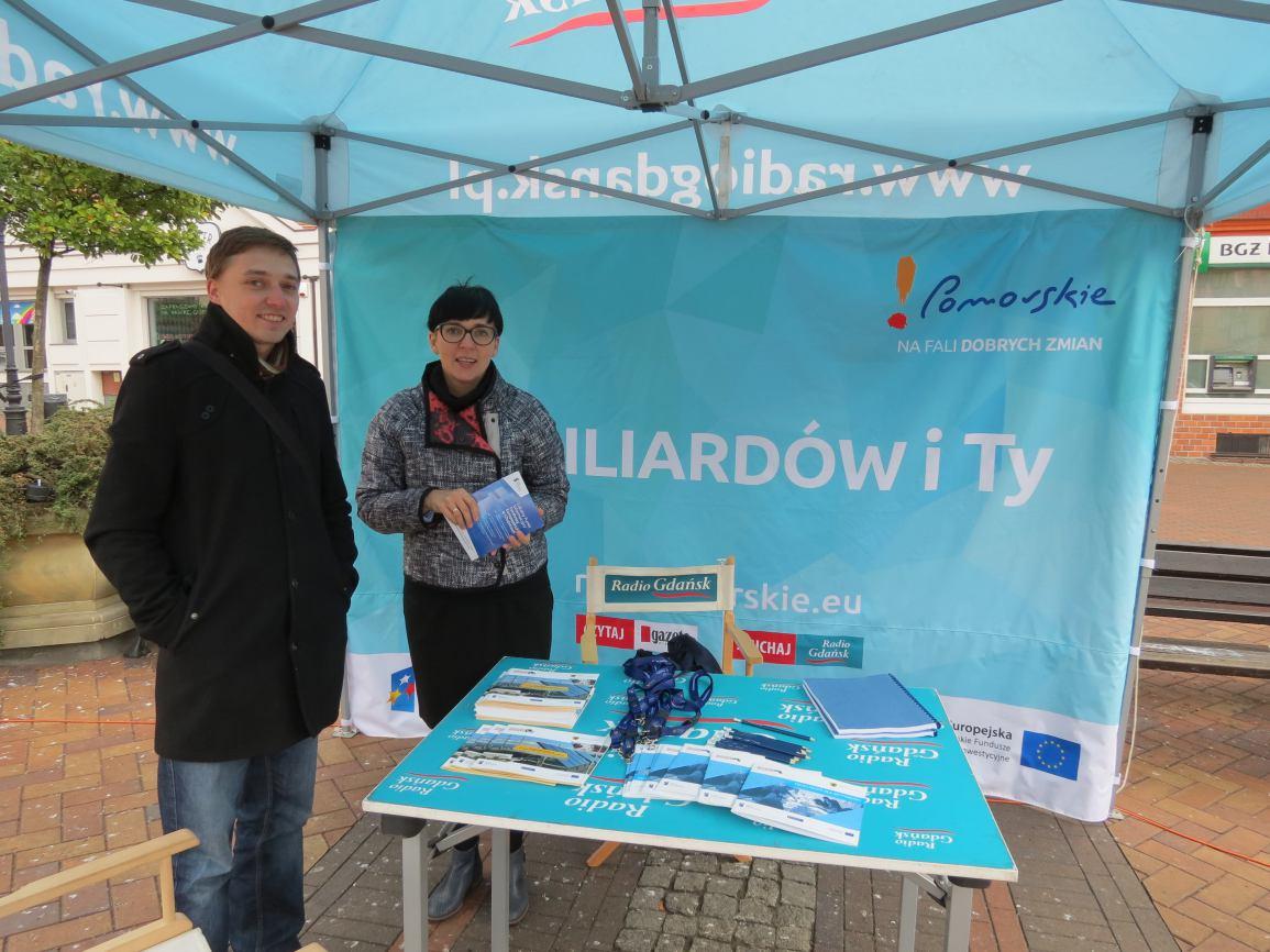 Kampania promująca wykorzystanie środków unijnych w województwie pomorskim