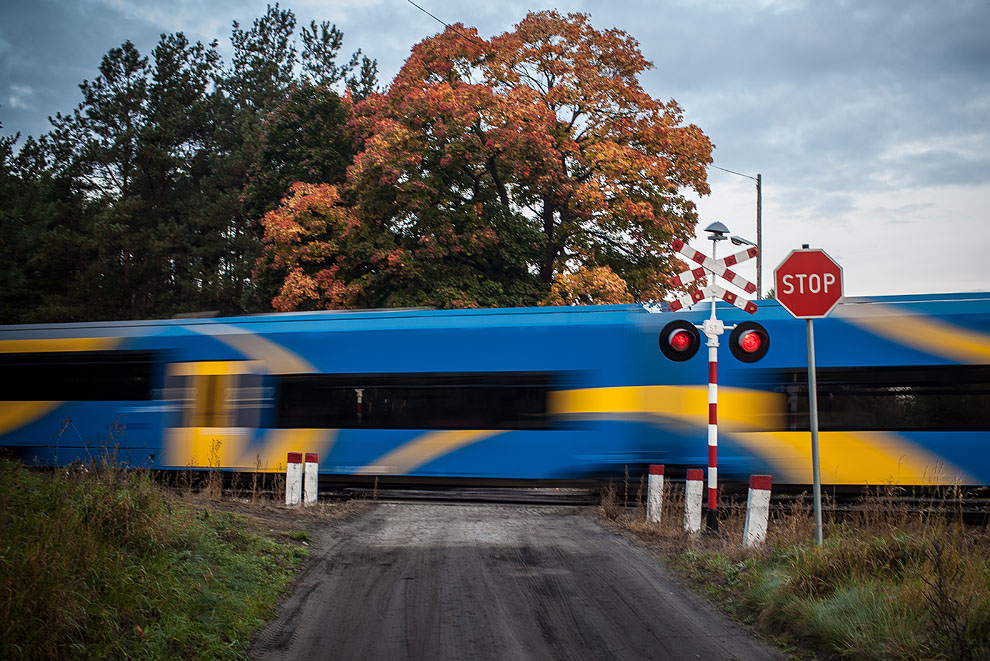 Od piątku 24.05 przejazd kolejowy w Klawkowie k/Chojnic będzie nieczynny