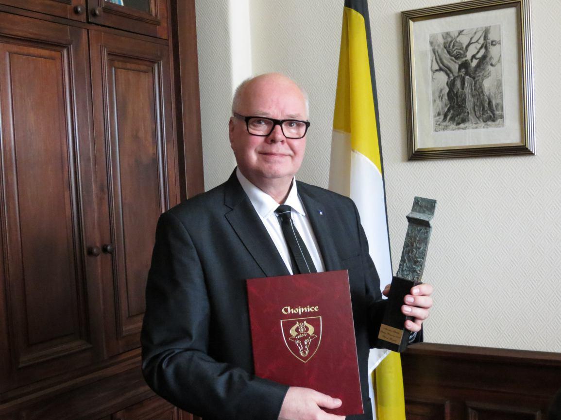 Paweł Boczek Mecenasem Sztuki Chojnic Perły Pomorza