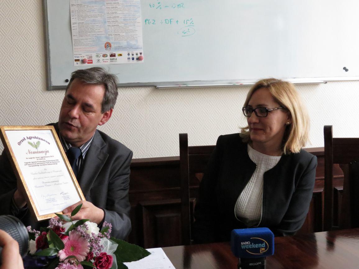 Bank Spółdzielczy z nominacją do nagrody Orła Agrobiznesu