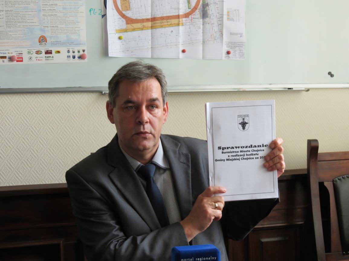 Sprawozdanie z realizacji budżetu Gminy Miejskiej Chojnice za 2015 r.