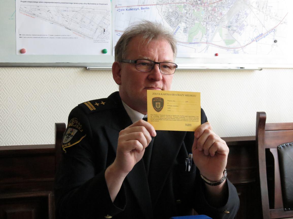 Żółta kartka zamiast mandatu
