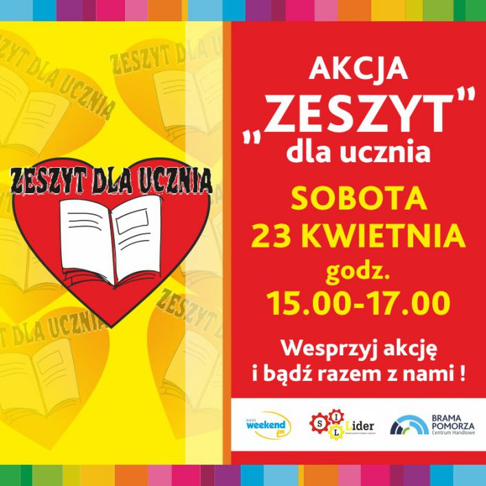 Rozpoczynamy akcję Zeszyt dla ucznia &ndash 4 edycja &ndash 2016