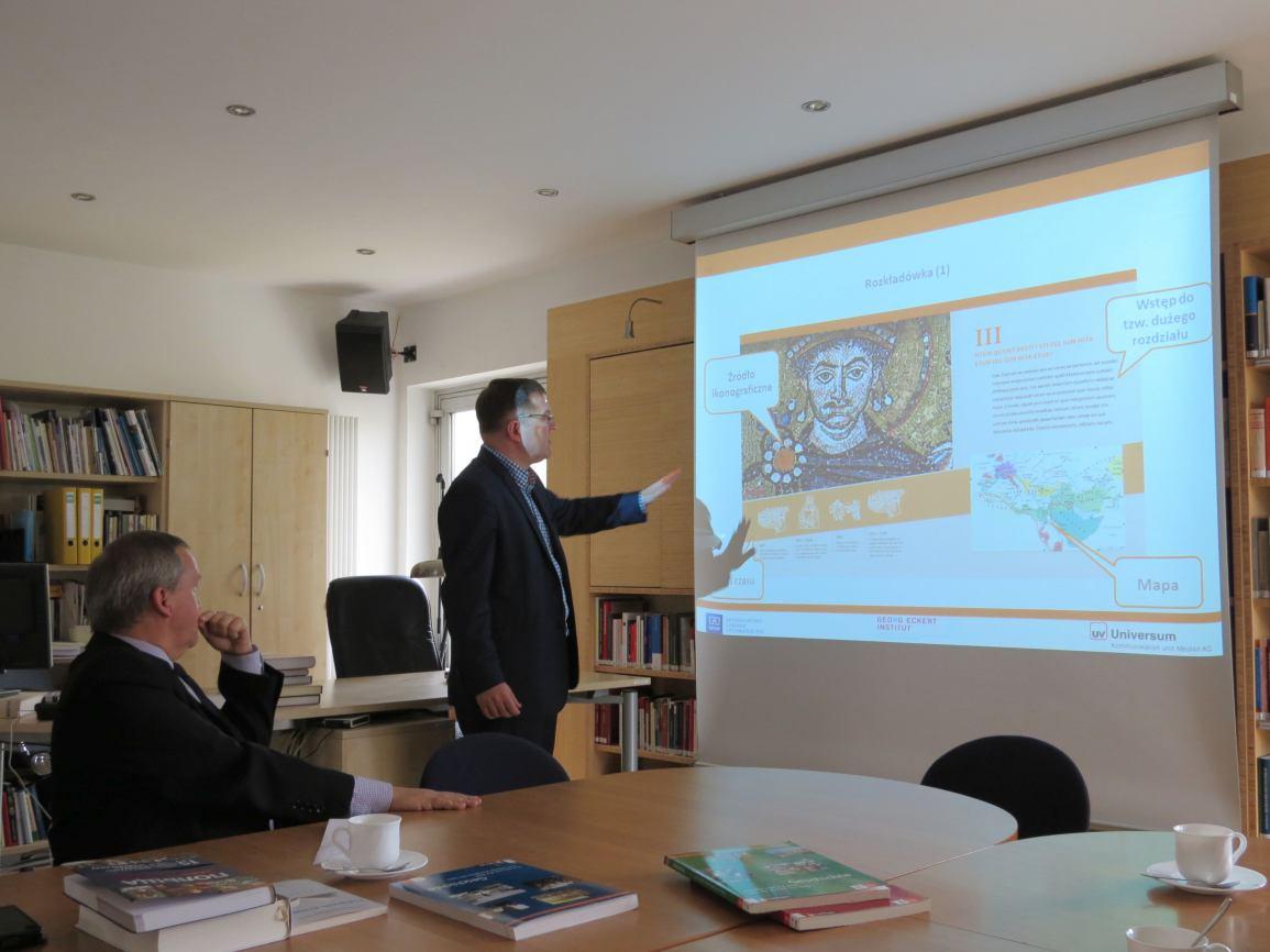 Delegacja miasta Chojnice z wizytą w CBH PAN