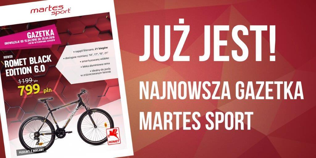 Tylko w Martes Sport! Największy wybór rowerów w najlepszych cenach