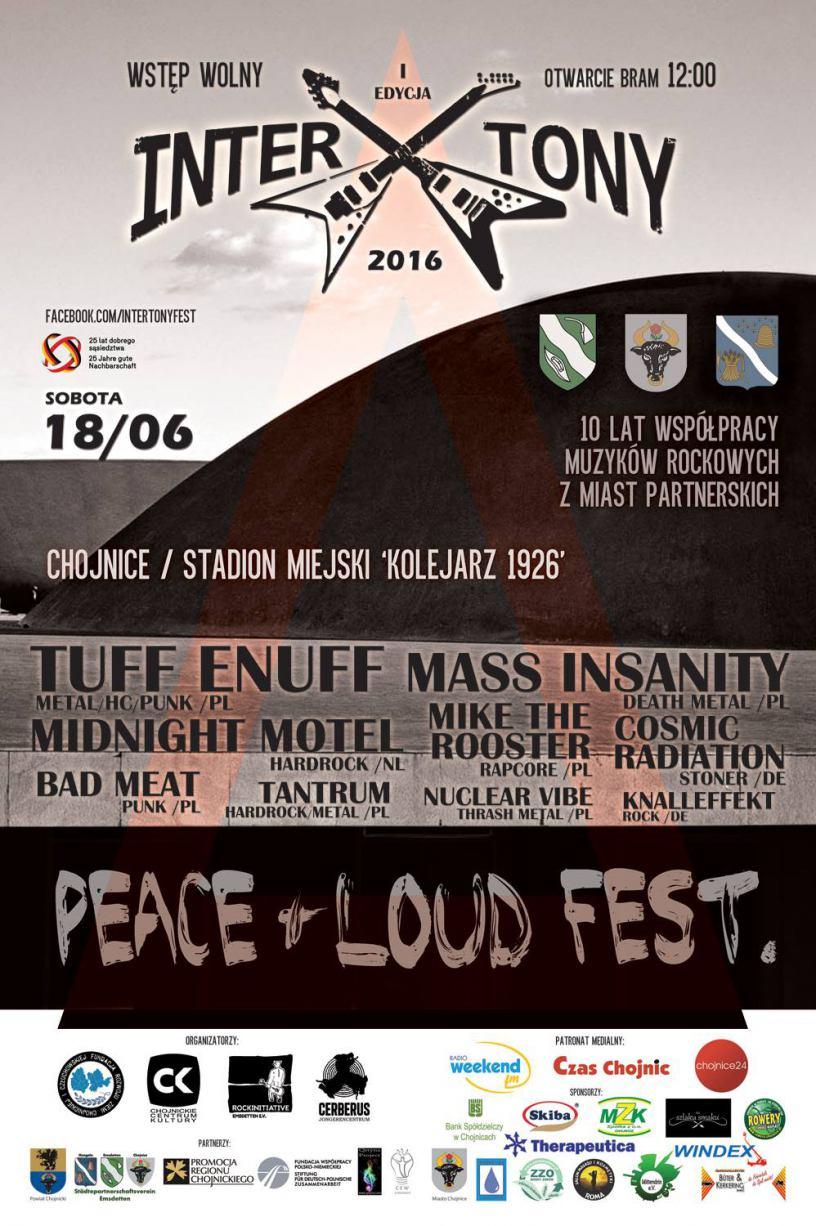 Festiwal rockowej muzyki InterTony 2016