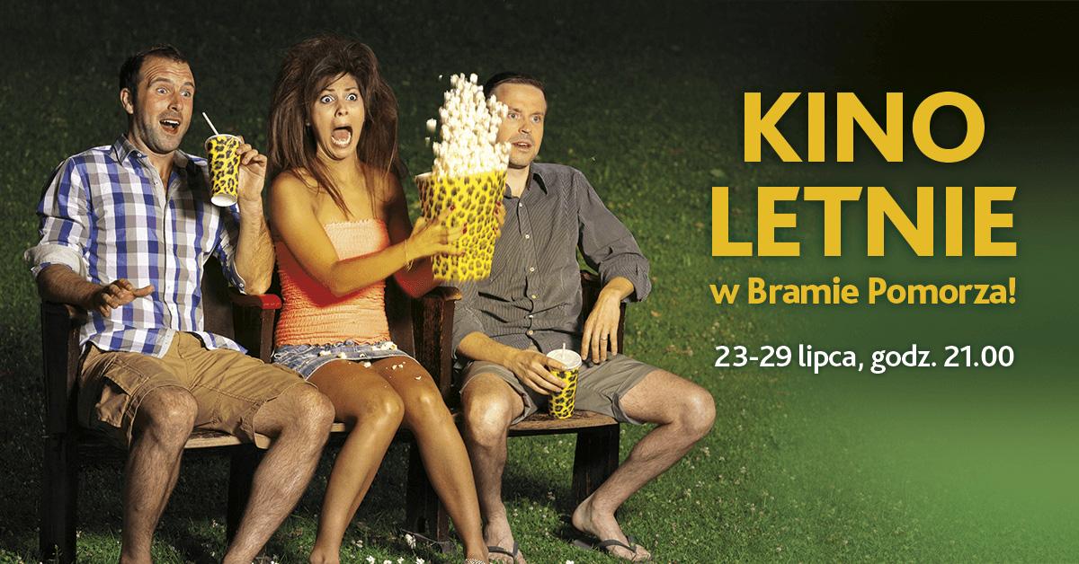 Kino letnie w Bramie Pomorza!