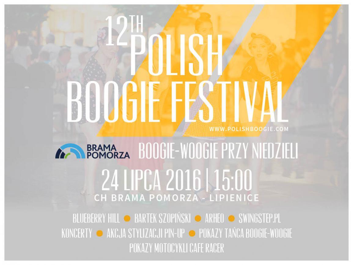 Polish Boogie Festiwal w Bramie Pomorza