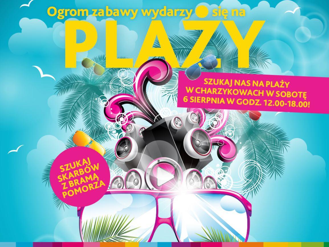 Impreza na plaży w Charzykowach