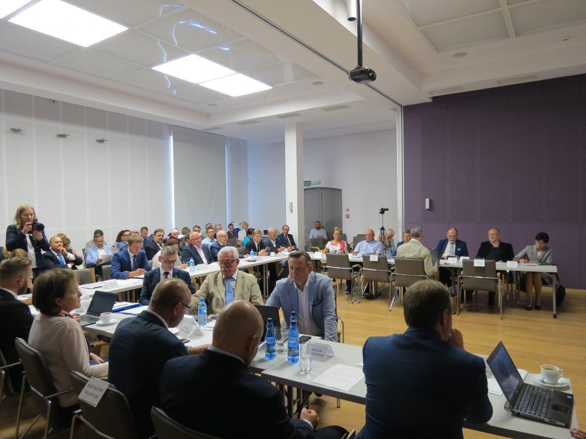 Sesja Sejmiku Województwa Pomorskiego w Chojnicach