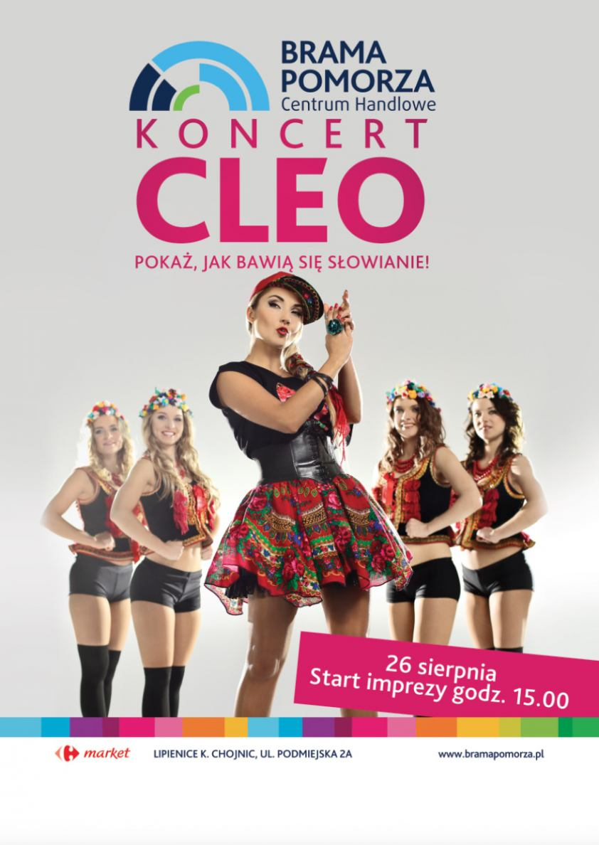 Koncert Cleo w Bramie Pomorza