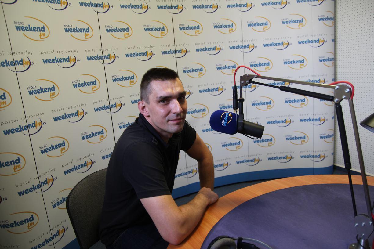 Bartosz BPA Pluta w Weekend FM.