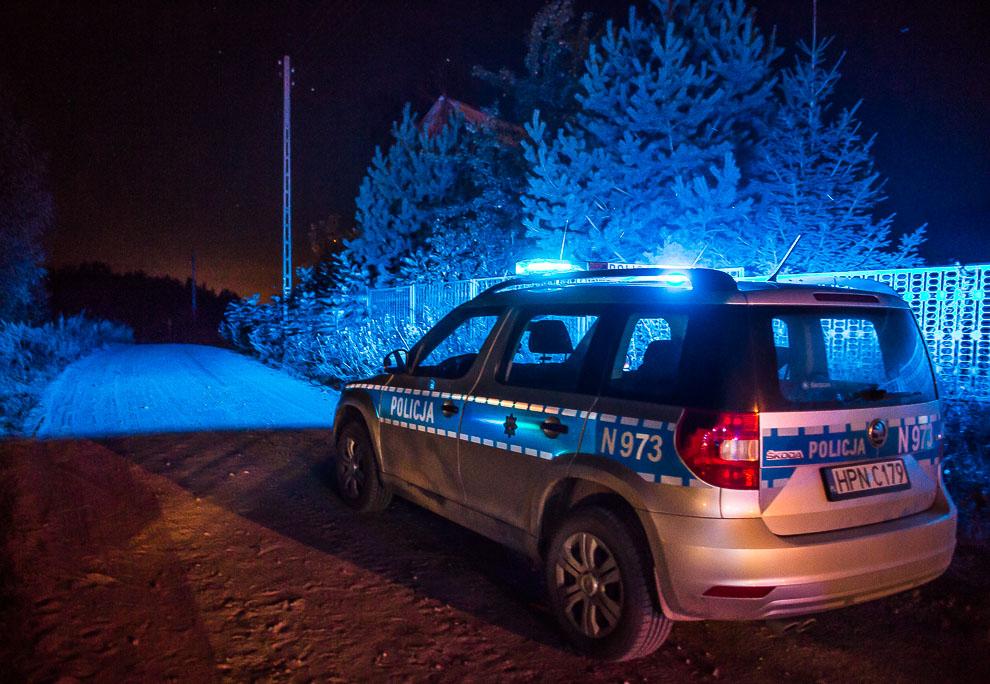 Powiat kościerski najpierw poszukiwania dwóch osób w lesie, potem wypadek