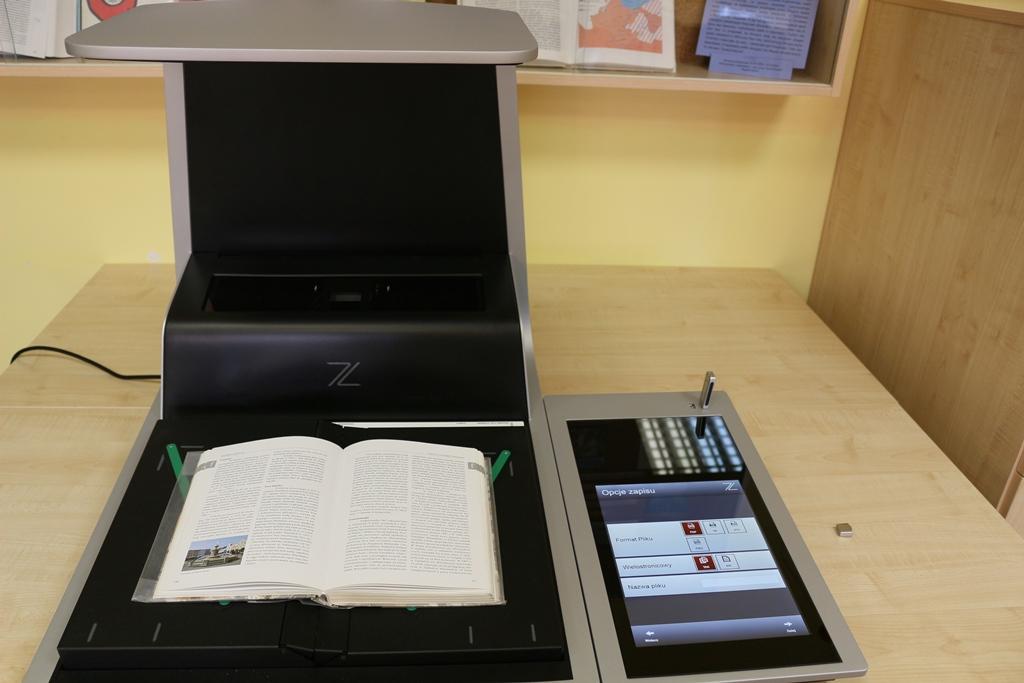 Digitalizacja zbiorów bibliotecznych