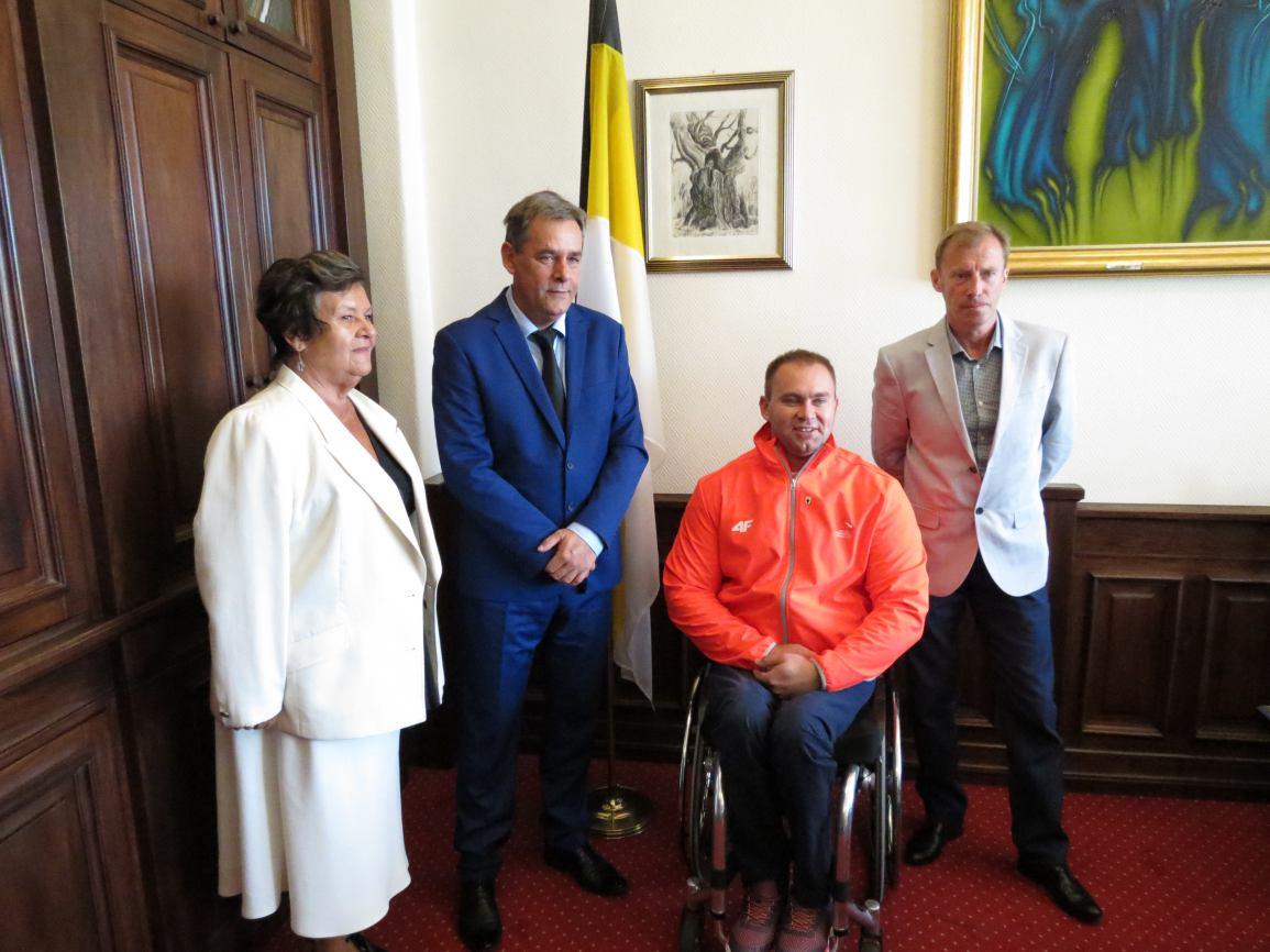 Spotkanie z medalistą paraolimpijskim Lechem Stoltmanem