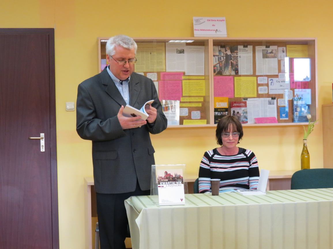 Promocja nowego numeru &bdquoKwartalnika Chojnickiego&rdquo
