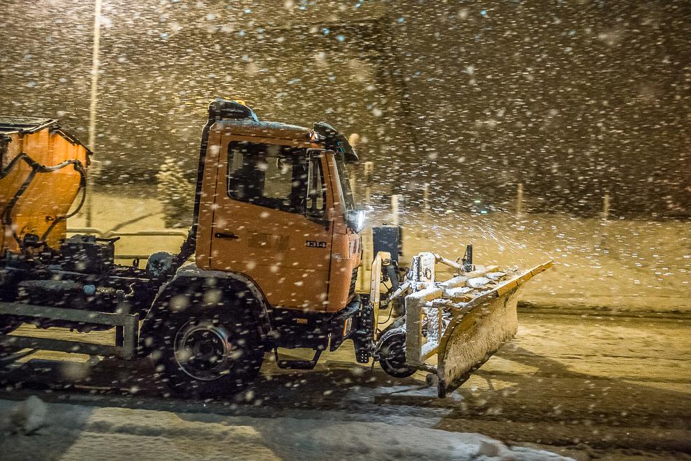 Zimowe utrzymanie dróg i chodników w mieście Chojnice