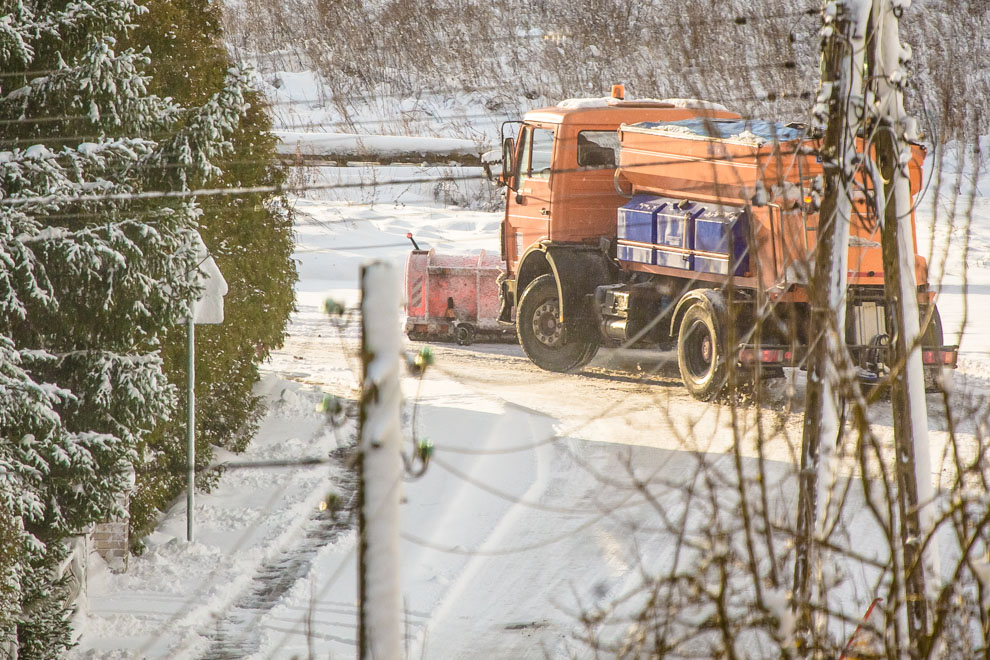 Jak będzie wyglądało zimowe utrzymanie dróg w powiecie człuchowskim?