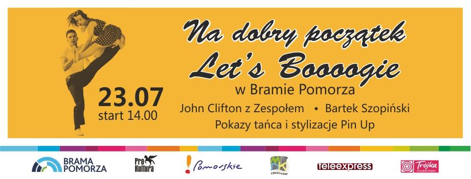 Let´s Boogie w Bramie Pomorza!