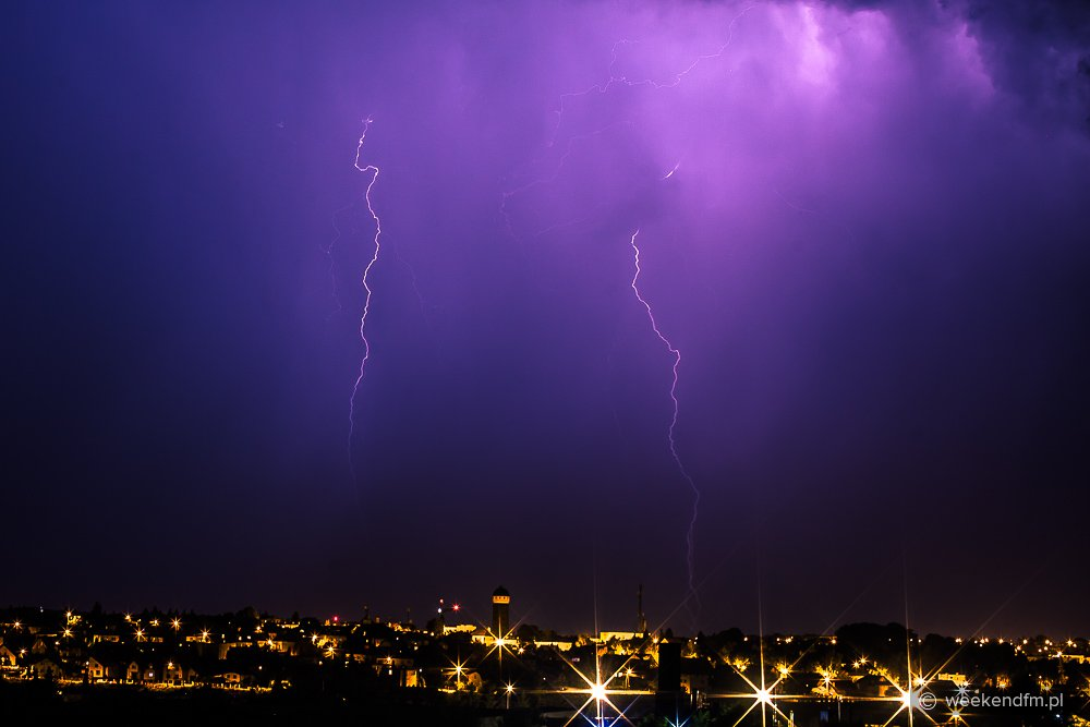 Burza nad Chojnicami