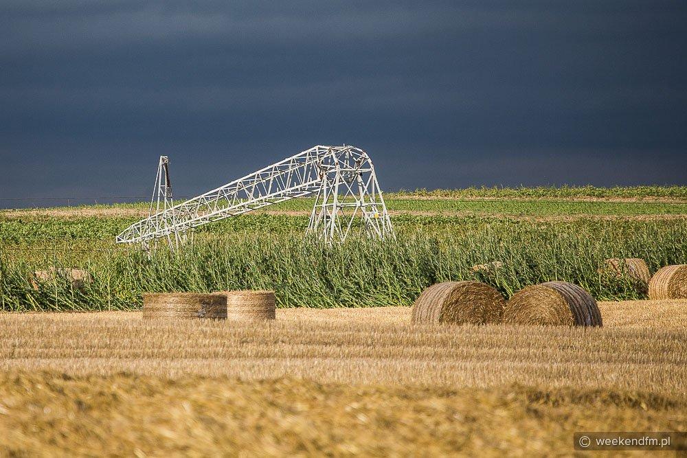 Uszkodzone linie energetyczne FOTO